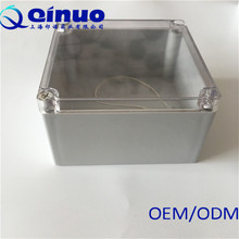 Qinuo Custom Plastic Weatherproof Outdoor Electrical Connection Enclosure