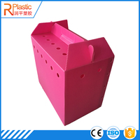 2016 professional manufacture folding plastic coroplast moving box