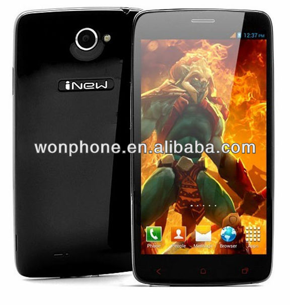5.0'' Full HD 1920*1080 1G RAM 16G ROM Android 4.2 MTK6589 Quad Core mobile phone inew i4000