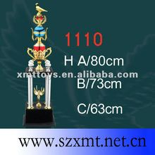 custom moulded Corporate Crystal religious products Trophy made in china