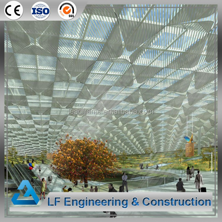 Modern Design Light Steel Structure Skylight Dome Roof