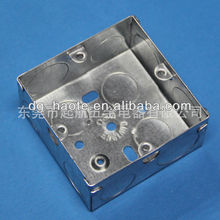 high quality square metal switch box