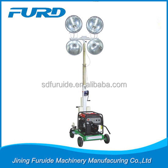 1000W*4 Air Cooled Diesel Generator Light Tower for sale(FZM-1000B)