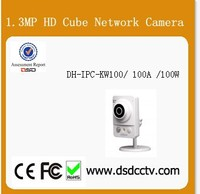 dahua 1.3Megapixel HD Cube Multiple network monitoring Camera DH-IPC-KW100/ 100A /100W