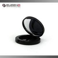 Black price cosmetic packaging pressed powder container