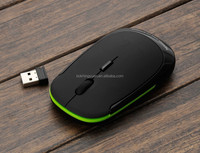 1200dpi 2.4ghz Notebook Slim and Portable Wireless Mouse (Blue Edition)