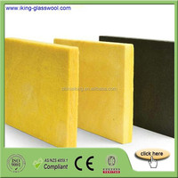 Heat Insulation Building Materials Acoustic Fireproof Glass Wool Panel