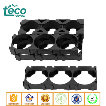 TBH--26650-Triple Ningbo TECO 26650 Lithium Battery Triple Holder Bracket for DIY Battery Pack