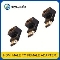 gold plated DP converter 90 degree vga adapter coaxial cable to hdmi adapter adapter