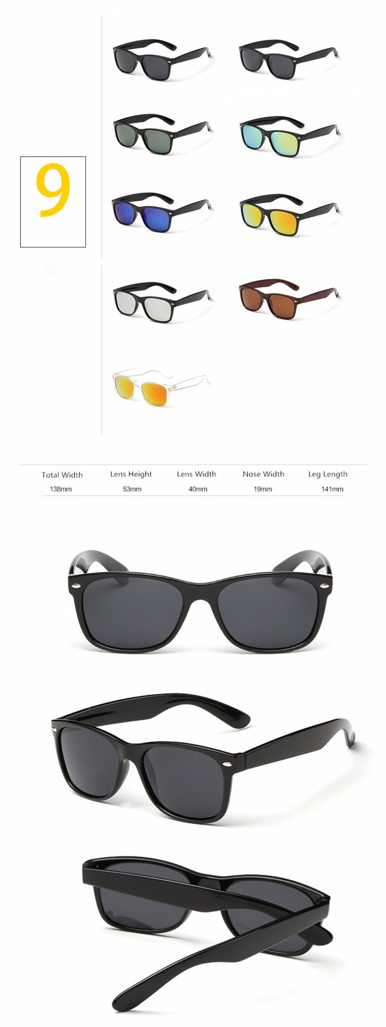 CE FDA taizhou sun shade unisex fashion one piece cat 3 uv400 sunglasses