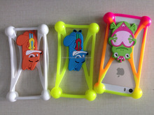 Wholesale Cell Phone Case Flexible Protective Silicone Frame Cover