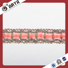 Lace Tassel Curtain Fringe Pink Lace Gimp Trims