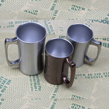 Double Wall Vacuum Insulated Stainless Steel Beer Mug