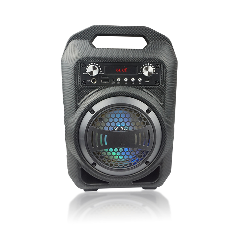 Licensed Lighted Color Changing Rechargeable Bluetooth Speaker with Music Sync and 360 Degree Light Show