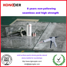 Factory price artificial stones seamless joint Adhesive,invisable seam glue