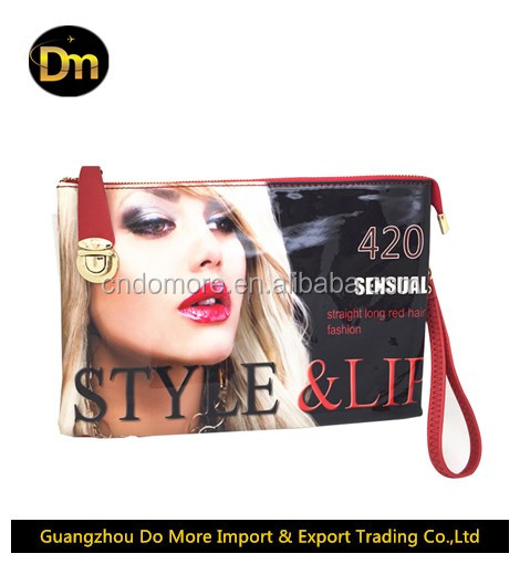 High quality PU <strong>leather</strong> women name branded handbag