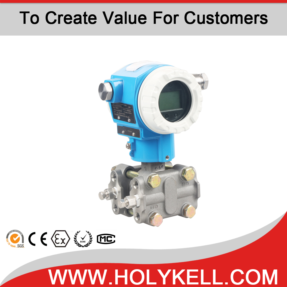HK7 series Smart Differential Pressure Transmitter price with Hart Protocol