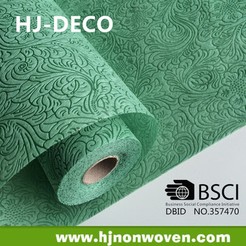 deco stoff non woven roll for floristic, tablecloth, carpet