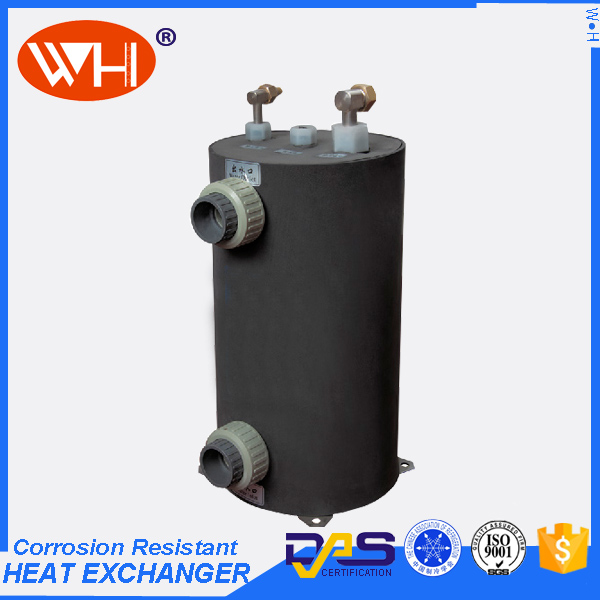 swimming pool heat pump titanium heat exchanger for corrosion resistence system swimming pool heat pump