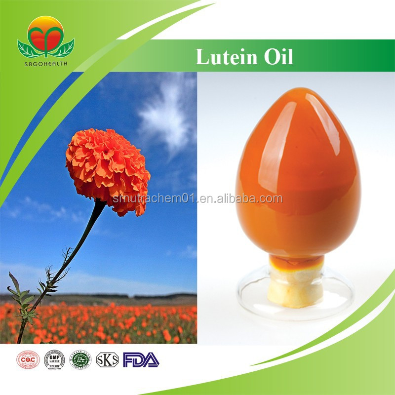 Hot Sale Marigold Flower Extract 20% Lutein Oil
