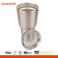 30oz Everich custom DW stainless steel tumbler with lid