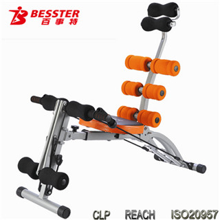 BEST JS-060SA EIGHT PACK CARE Fitness Equipment Dimensions