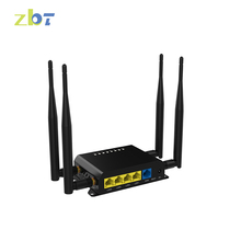 CE FCC Quacomm chipset 9531 3G/4G Wireless type home 300mbps openwrt router