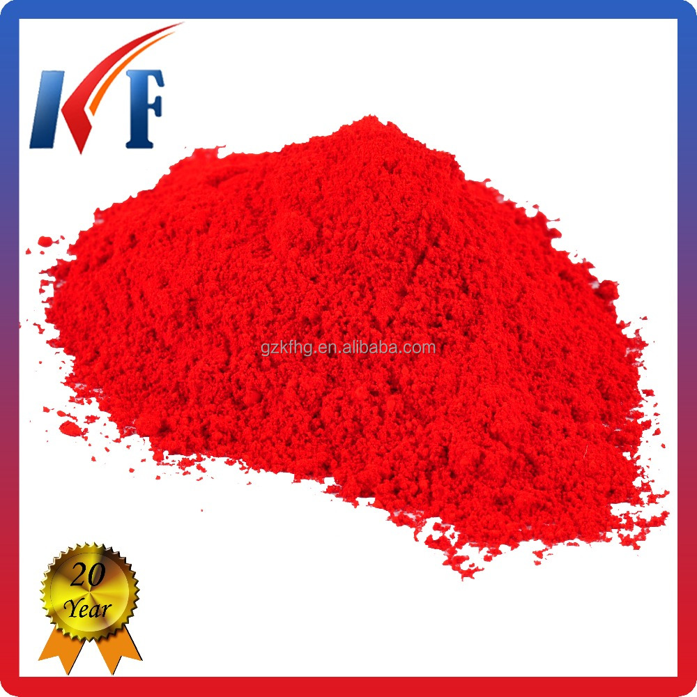 Organic pigment red P.R.21 scarlet red for leather