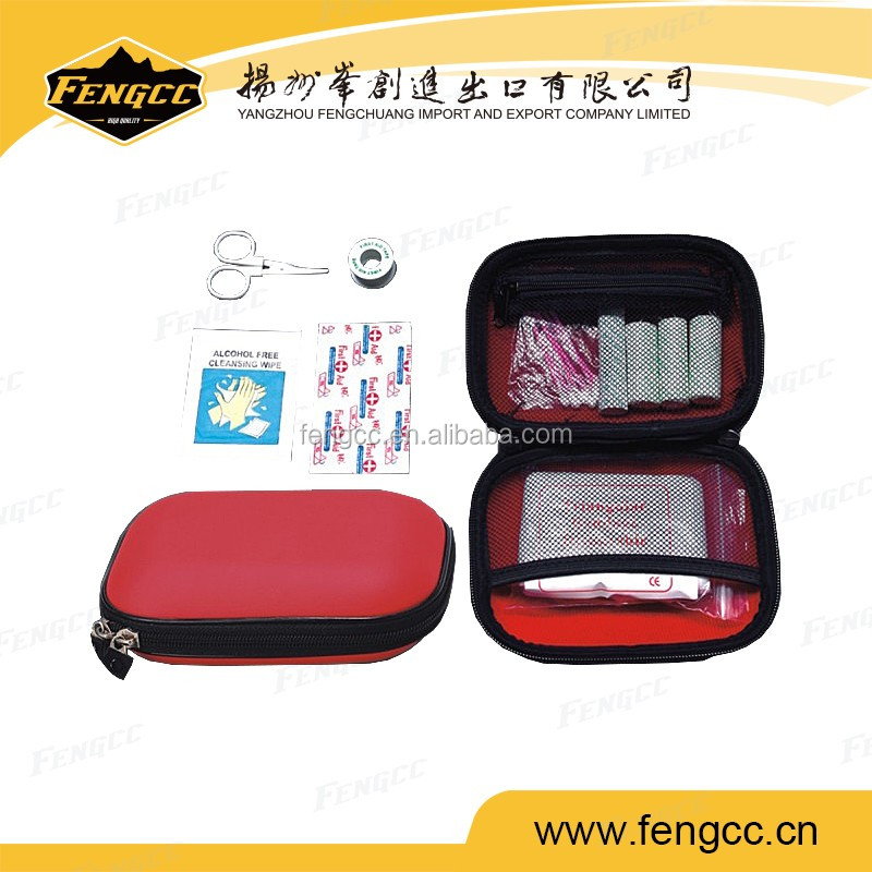 PU foam packing mini first aid kit set