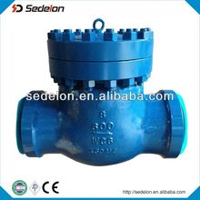 stainless steel/WC6 API flanged no return check valve