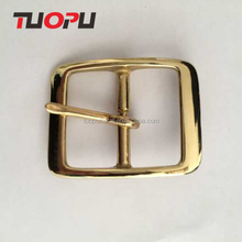 Tuopu metal square belt buckle,brass square single prong belt buckle