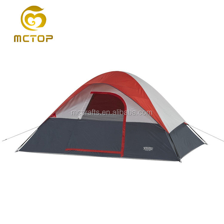 High quality under the weather folding tent factory wholesale big family camping roof tent