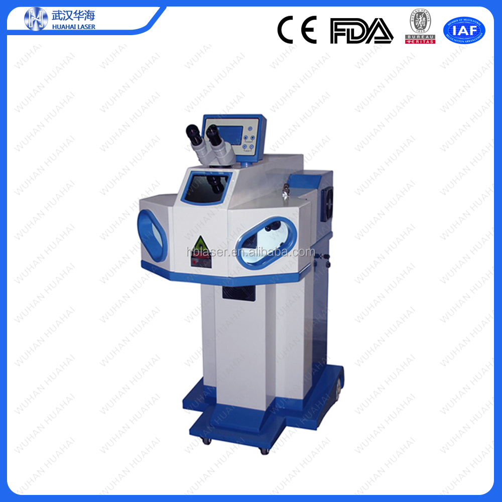 Huahai high quality jewelry laser soldering machine/ laser spot welding machine