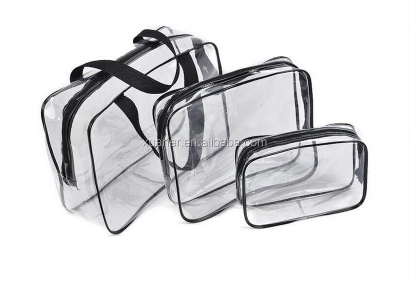 cute design transparent clear pvc women mini cosmetic bag