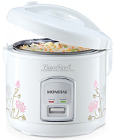 Premium 1.0L 400W mini electric white color rice cooker