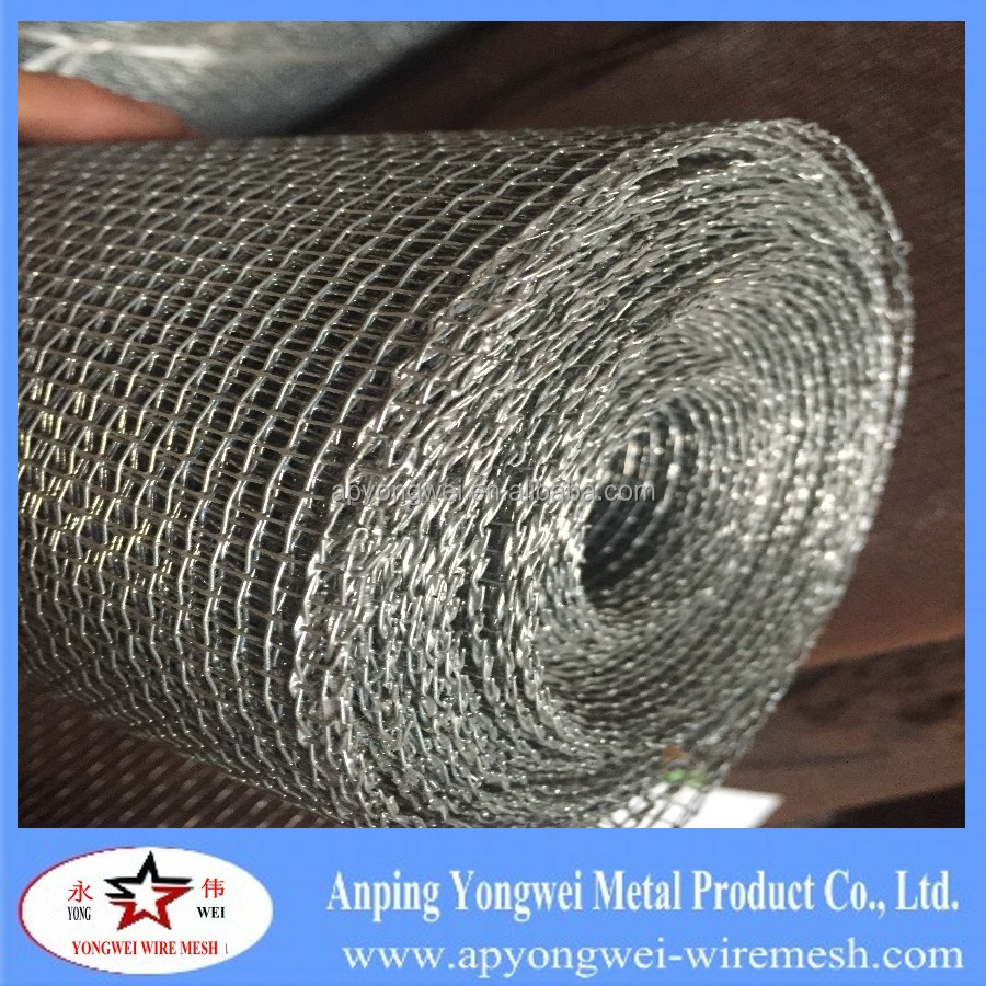 4x4 Mesh hot dipped galvanized woven square wire mesh fence