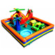 high quality outdoor inflatable Chopperville play center for toddlers