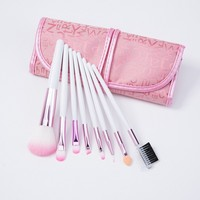 8 Pcs free sample makeup brush set high quality makeup brush