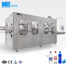 Automatic monoblock 3in1 washing filling capping machine for carbonated drink
