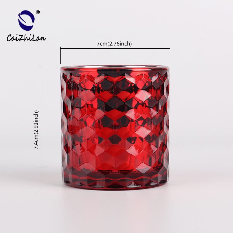 CD133 Hot Selling Cheap Price Customized Clear wholesale geometric candle holder Manufacturer from China
