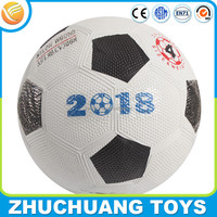 very cheap promotional size 4 rubber ball soccer football