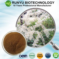 Free Sample EXW Price Black Cohosh P.E., Actaea racemosa extract with best quality