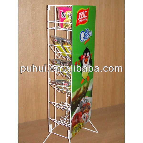 soft drink display rack