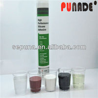 Single component, low viscosity, solvent-based, very convenient for application silicone sealant