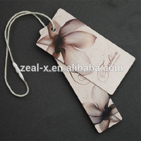 Customized Hang Clothing Label Tag