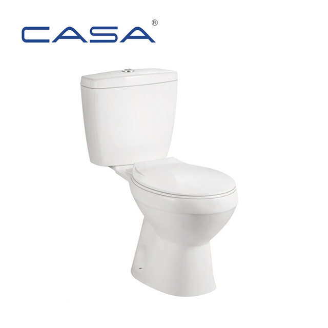 Sanitary Ware Ceramic Two Piece Public Man Toilet With Good Price