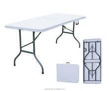 183cm 6ft Banquet Cheap HDPE Plastic Folding Table