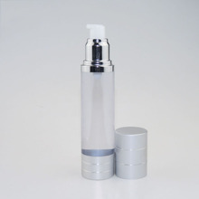 new 100ml 30ml 50ml airless bottle perfume plastic bottle with pump cap