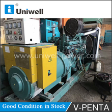 used/ second hand generator sales for volvo penta 250kva diesel generator set