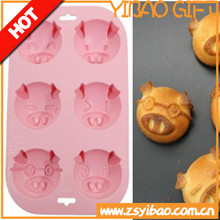 New product 2015 hot sale silicone cake mold